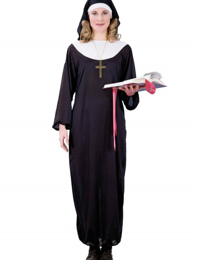 Adult Nun Costume, halloween costume (Adult Nun Costume)
