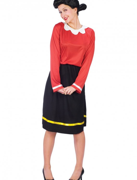 Adult Olive Oyl Costume, halloween costume (Adult Olive Oyl Costume)