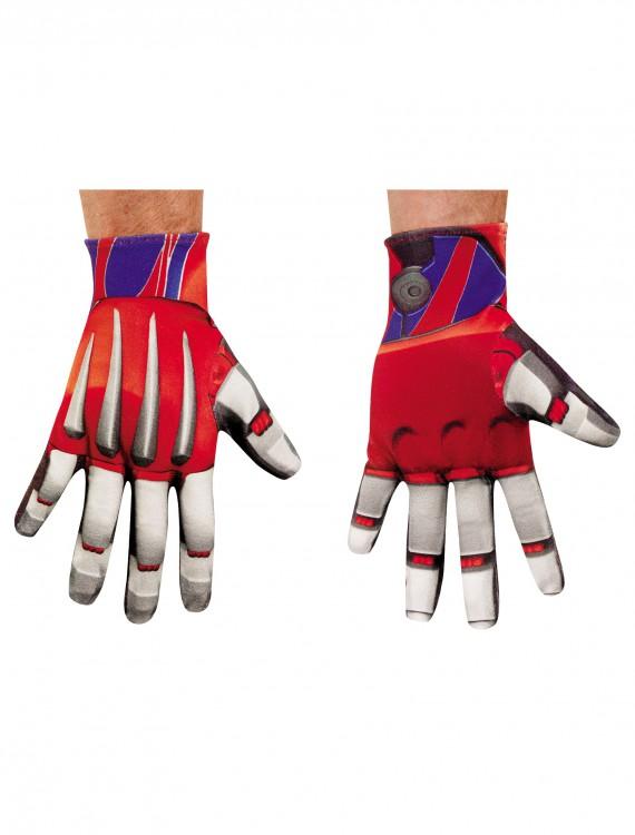 Adult Optimus Prime Gloves, halloween costume (Adult Optimus Prime Gloves)