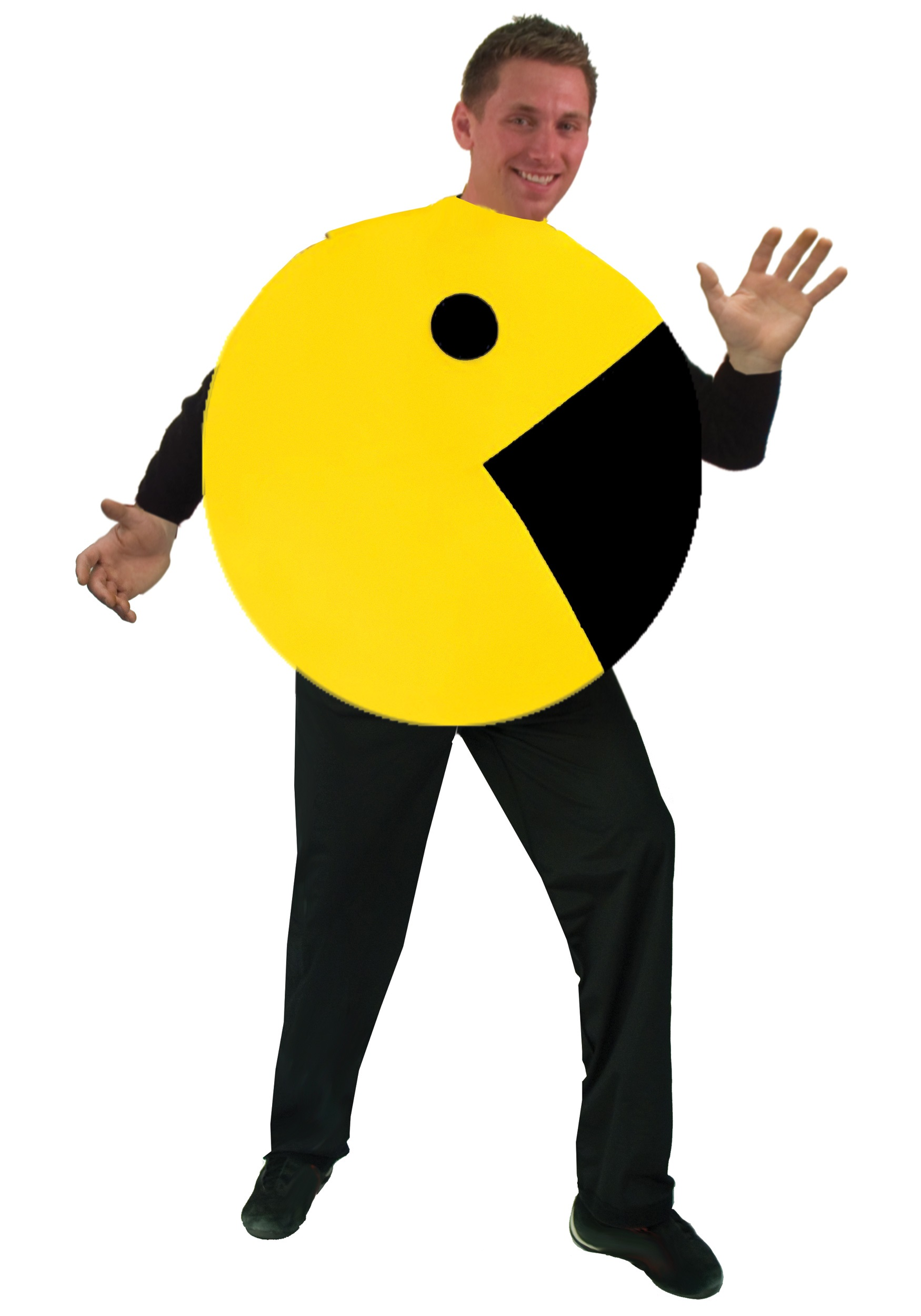 Adult Pac Man Costume  sc 1 st  Halloween Costumes & Adult Pac Man Costume - Halloween Costumes