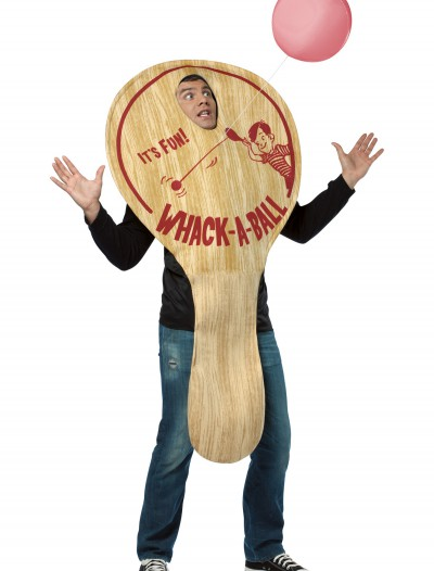 Adult Paddle Ball Costume, halloween costume (Adult Paddle Ball Costume)