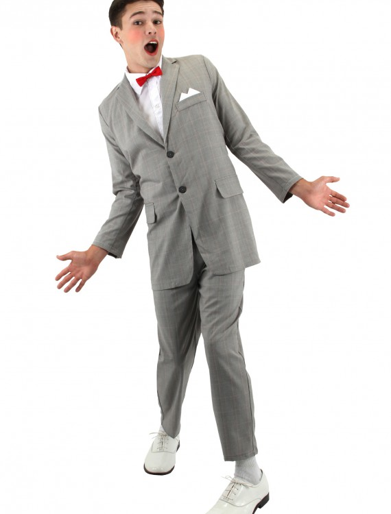 Adult Pee-Wee Costume, halloween costume (Adult Pee-Wee Costume)