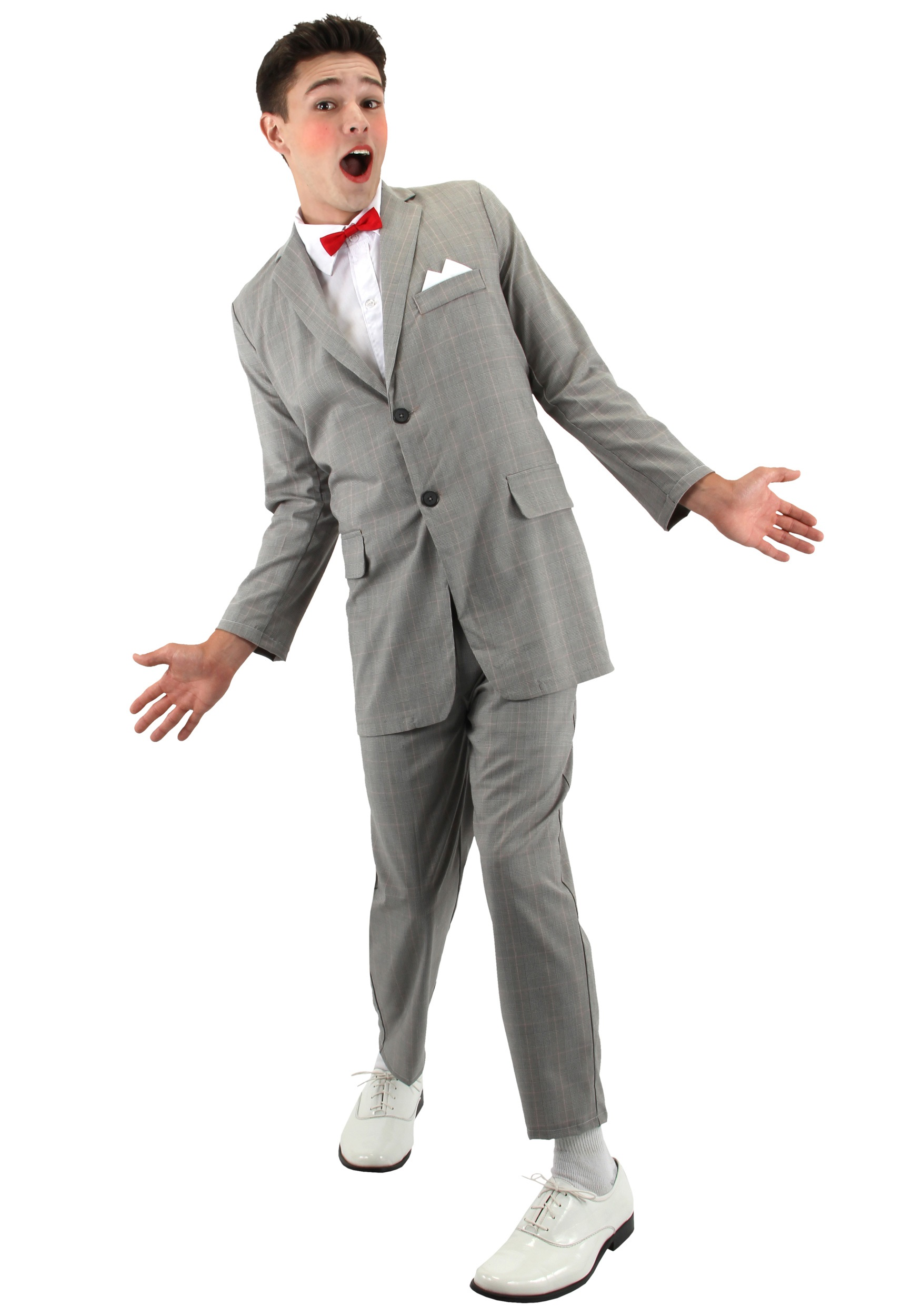 Costume Halloween Man.Adult Pee Wee Costume