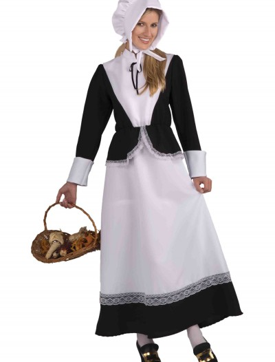 Adult Pilgrim Woman Costume, halloween costume (Adult Pilgrim Woman Costume)