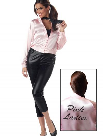 Adult Pink Ladies Jacket, halloween costume (Adult Pink Ladies Jacket)