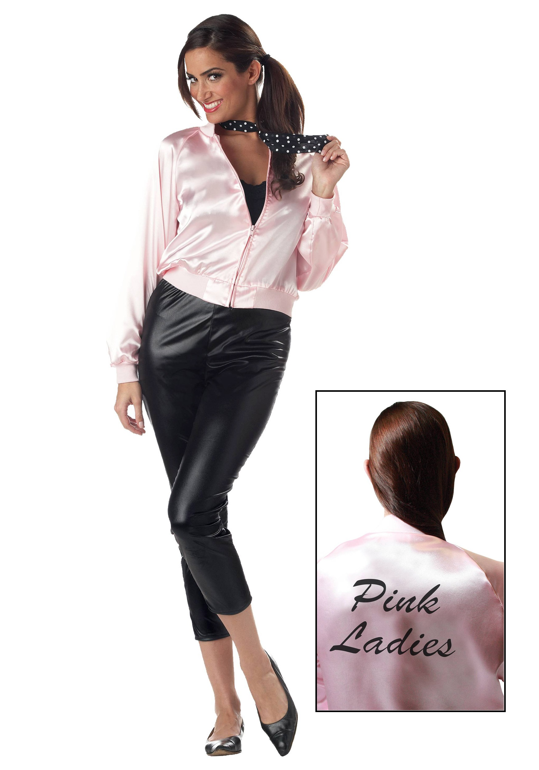 adult pink ladies jacket
