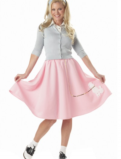 Adult Pink Poodle Skirt, halloween costume (Adult Pink Poodle Skirt)