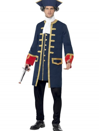 Adult Pirate Commander Costume, halloween costume (Adult Pirate Commander Costume)