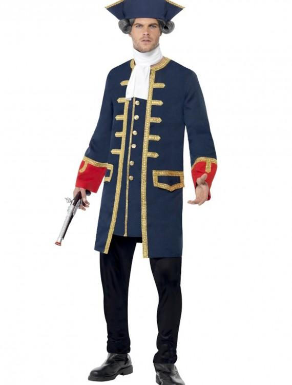 Adult Pirate Commander Costume, halloween costume (Adult Pirate Commander Costume)