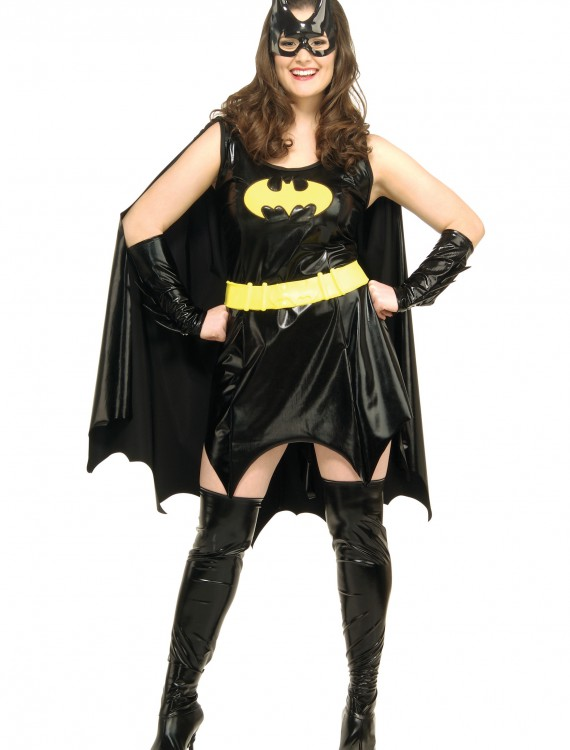 Adult Plus Size Batgirl Costume, halloween costume (Adult Plus Size Batgirl Costume)
