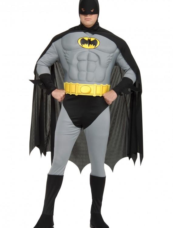 Adult Plus Size Batman Costume, halloween costume (Adult Plus Size Batman Costume)