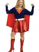 Adult Plus Size Supergirl Costume, halloween costume (Adult Plus Size Supergirl Costume)