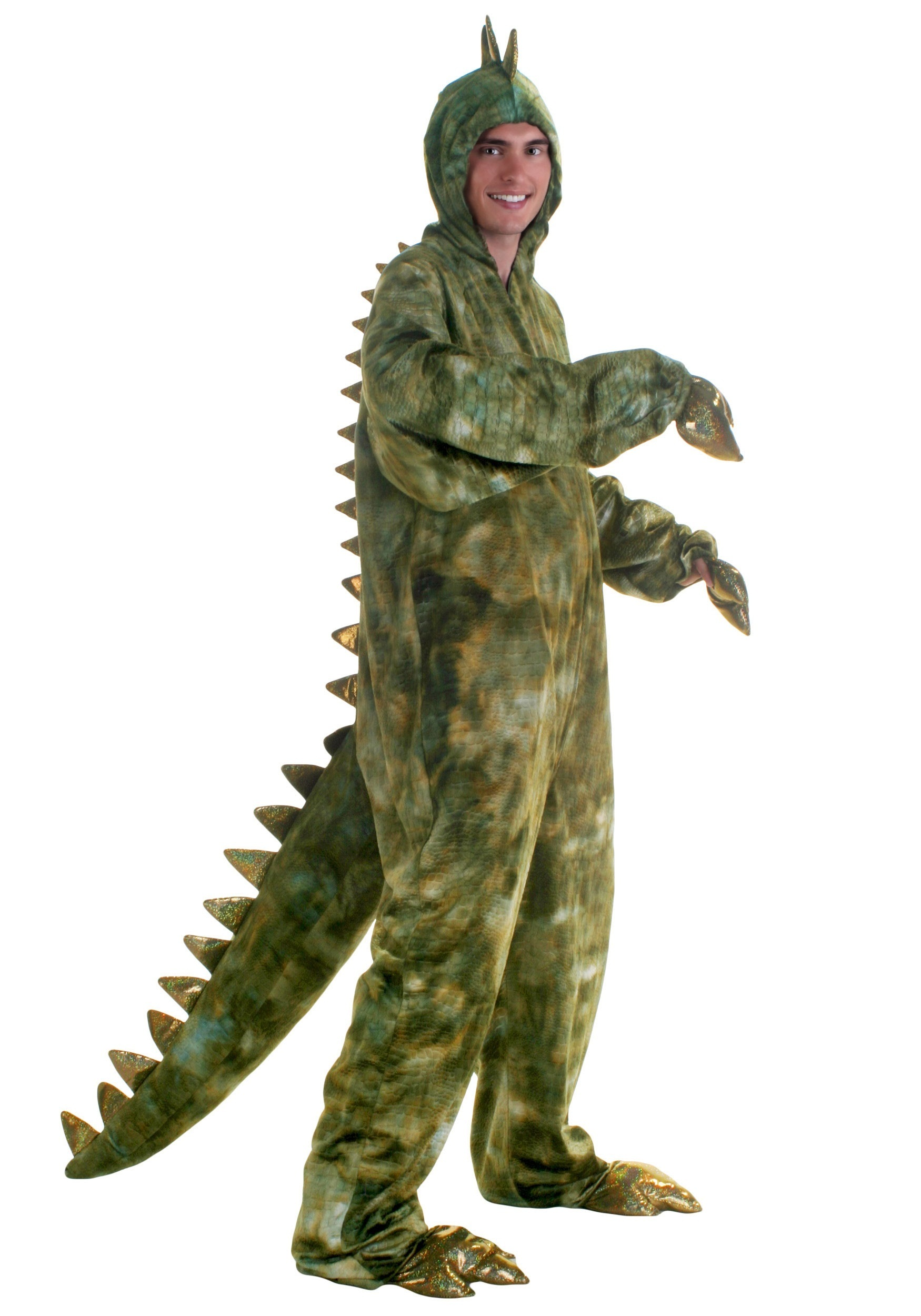 adult plus size t rex dinosaur costume