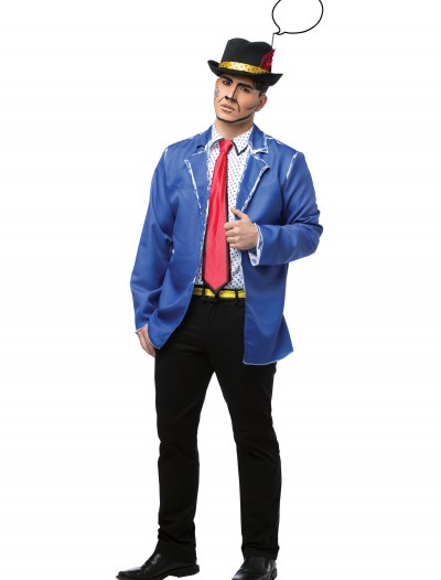 Adult Pop Art Guy Costume, halloween costume (Adult Pop Art Guy Costume)