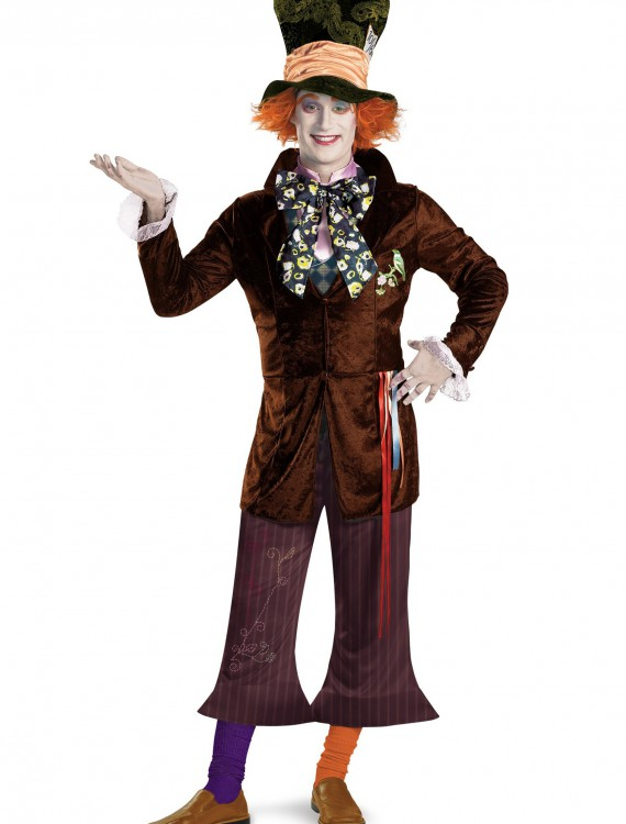 Adult Prestige Mad Hatter Costume, halloween costume (Adult Prestige Mad Hatter Costume)