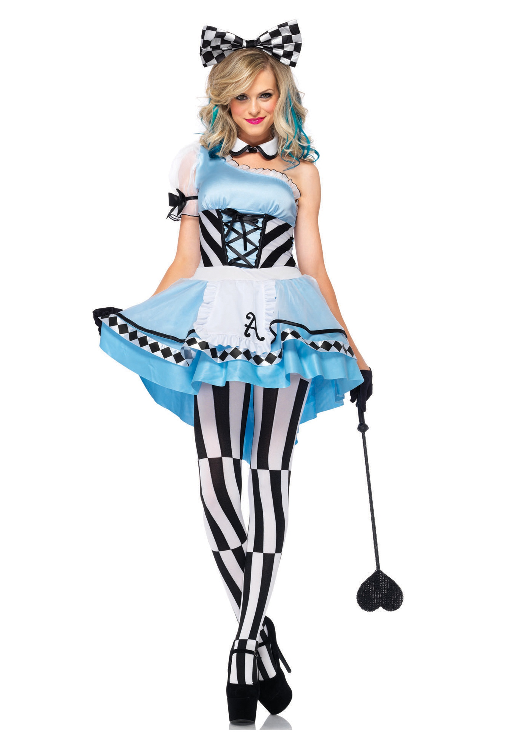 adult psychedelic alice costume - halloween costumes