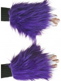 Adult Purple Fuzzy Hand Covers, halloween costume (Adult Purple Fuzzy Hand Covers)