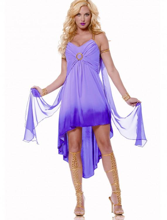 adult purple roman goddess costume halloween costume adult purple roman goddess costume