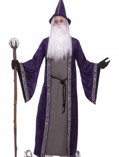 Adult Purple Wizard Costume, halloween costume (Adult Purple Wizard Costume)