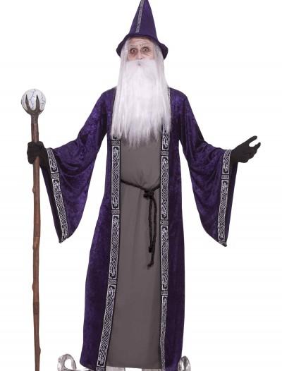 Adult Purple Wizard Costume, halloween costume (Adult Purple Wizard Costume)
