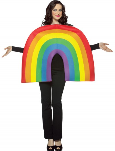 Adult Rainbow Costume, halloween costume (Adult Rainbow Costume)