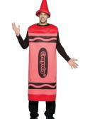 Adult Red Crayon Costume, halloween costume (Adult Red Crayon Costume)
