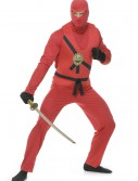 Adult Red Ninja Avengers Series I Costume, halloween costume (Adult Red Ninja Avengers Series I Costume)