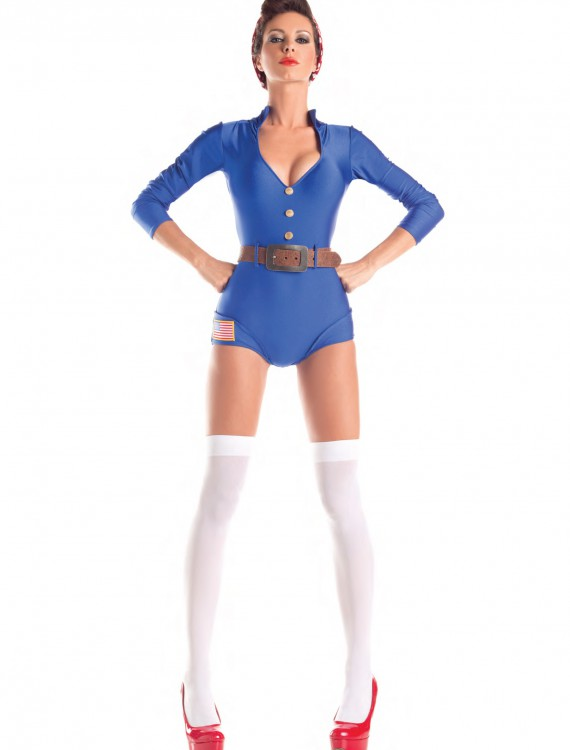 Adult Riveting Darling Costume, halloween costume (Adult Riveting Darling Costume)