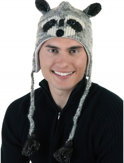 Adult Robbie the Raccoon Hat, halloween costume (Adult Robbie the Raccoon Hat)
