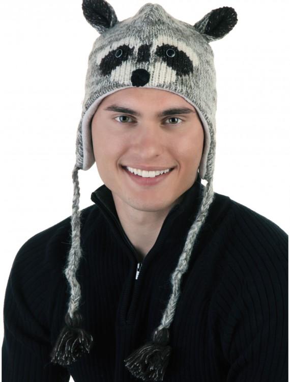 Adult Robbie the Raccoon Hat, halloween costume (Adult Robbie the Raccoon Hat)