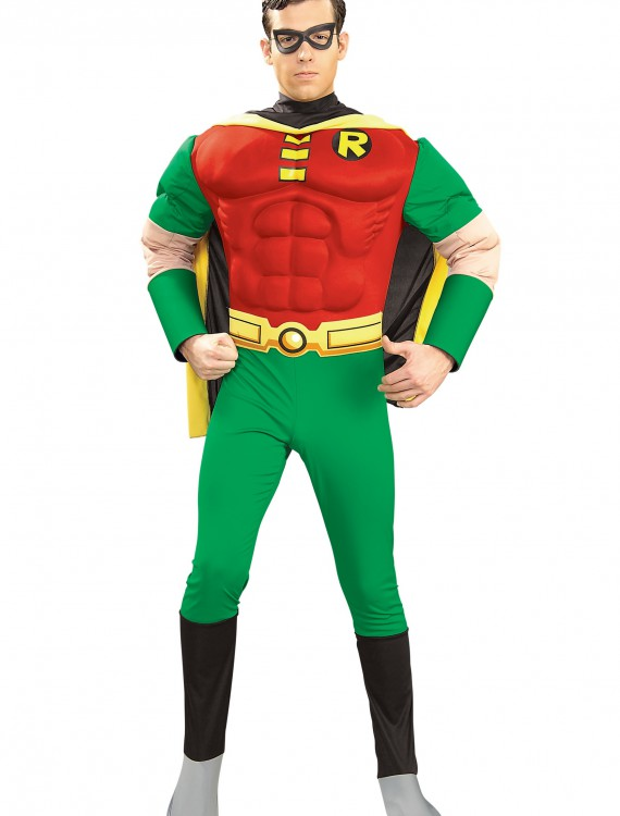 Adult Robin Muscle Costume, halloween costume (Adult Robin Muscle Costume)