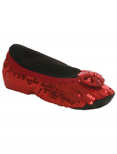 Adult Red Slippers, halloween costume (Adult Red Slippers)