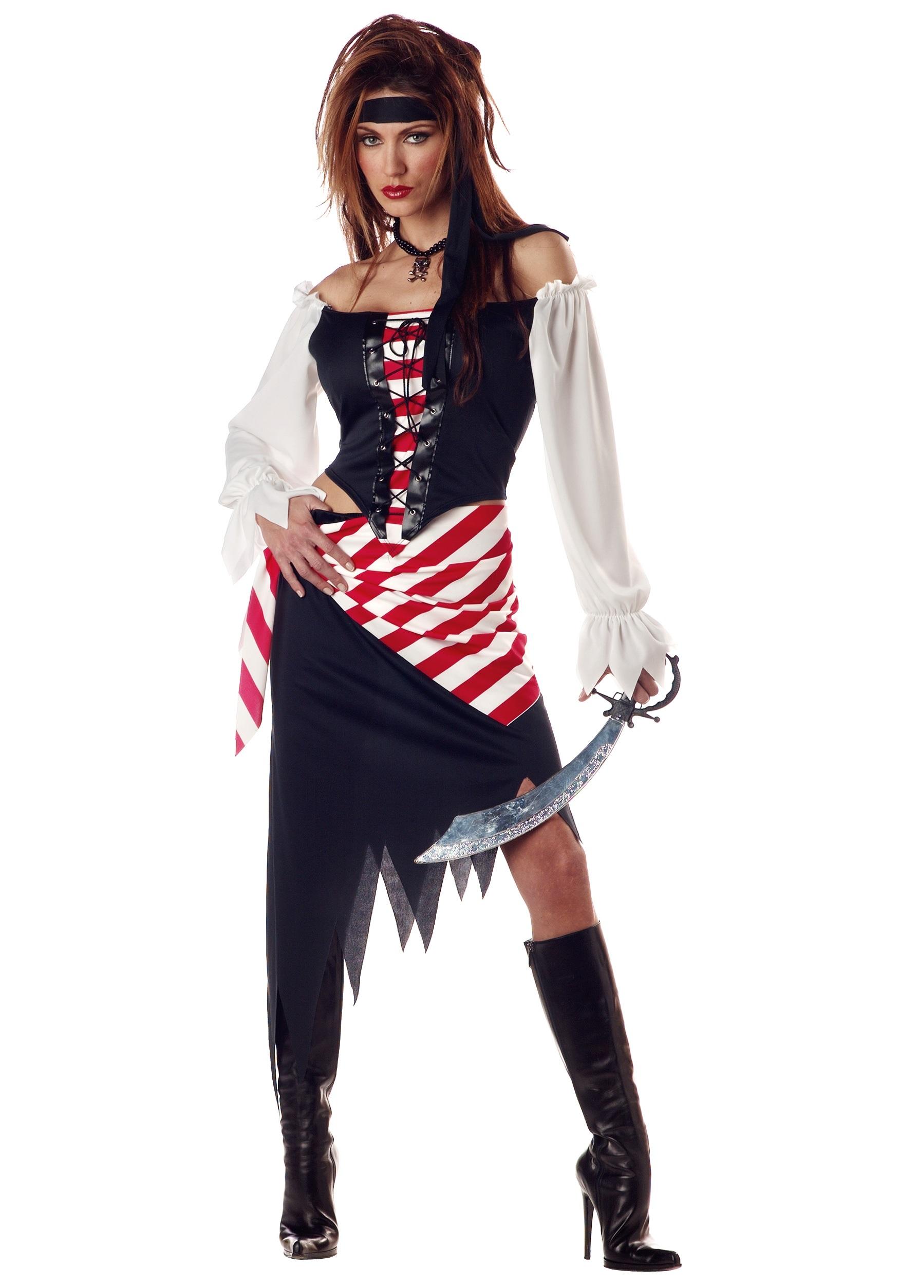 Женский костюм пирата своими руками фото