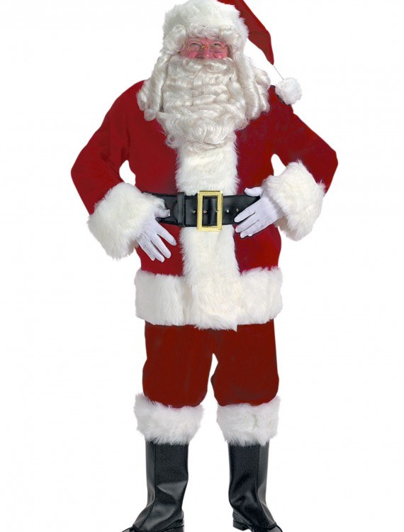 Adult Santa Claus Costume, halloween costume (Adult Santa Claus Costume)