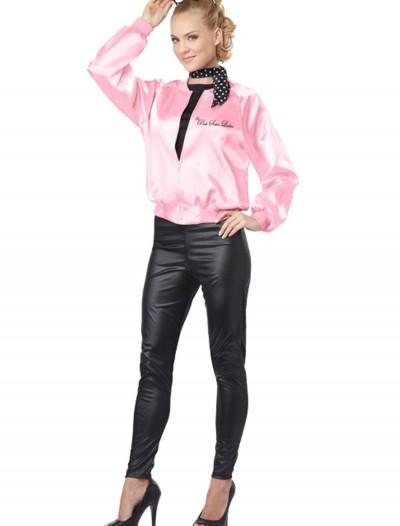 Adult Pink Satin Ladies Jacket, halloween costume (Adult Pink Satin Ladies Jacket)