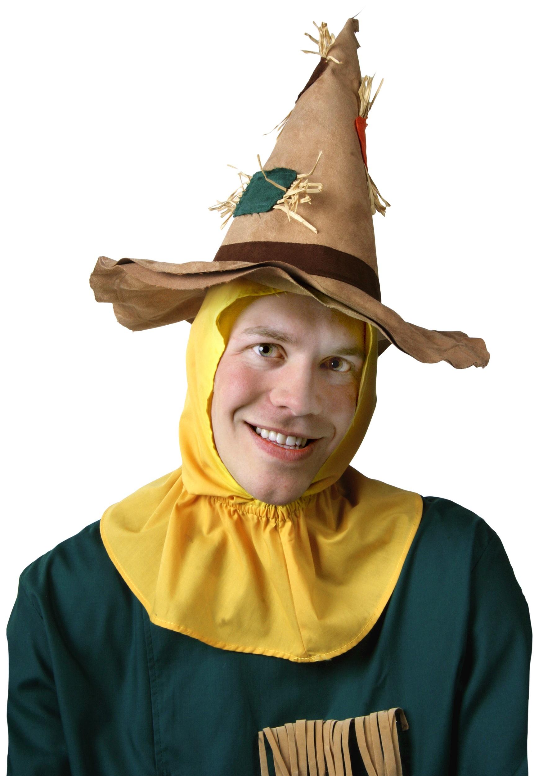 adult scarecrow hat - halloween costumes