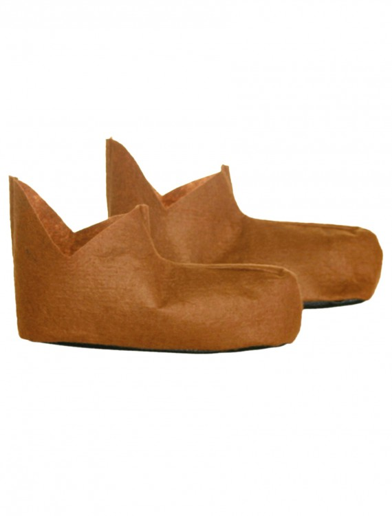 Adult Scarecrow Shoes, halloween costume (Adult Scarecrow Shoes)