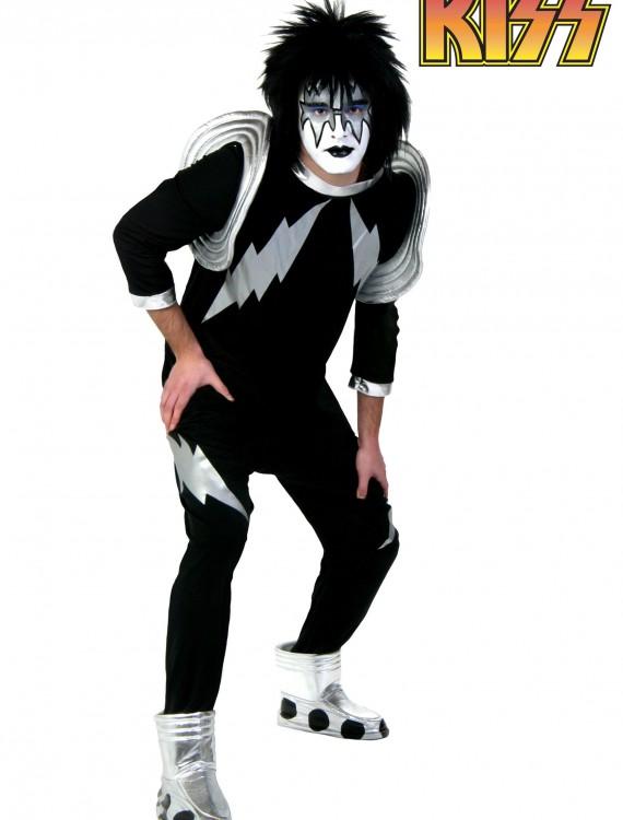 Adult Screenprint KISS Spaceman Costume, halloween costume (Adult Screenprint KISS Spaceman Costume)