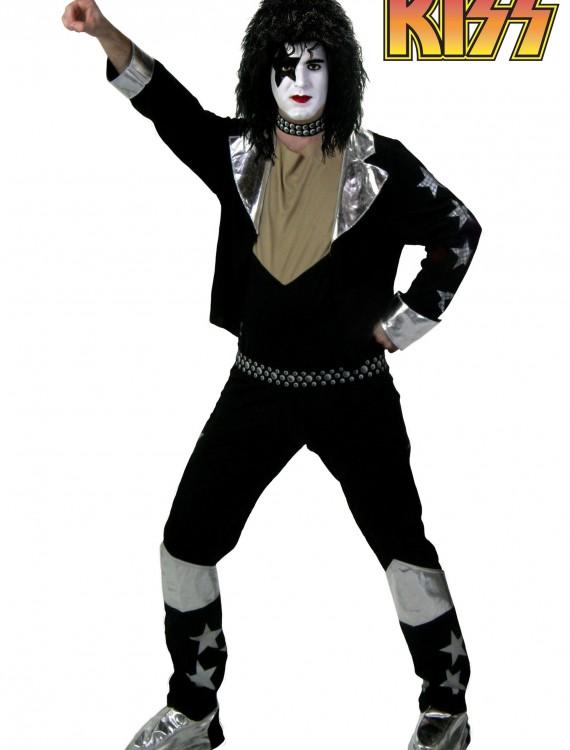 Adult Screenprint KISS Starchild Costume, halloween costume (Adult Screenprint KISS Starchild Costume)