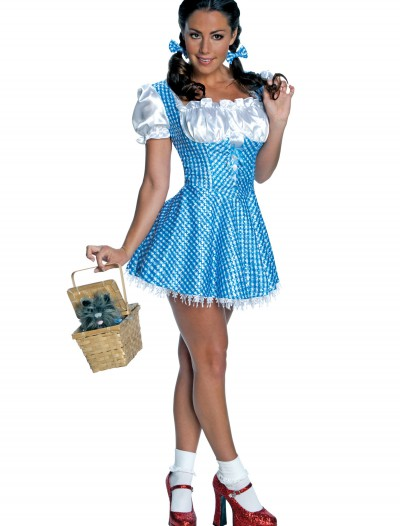 Adult Sequin Dorothy Costume, halloween costume (Adult Sequin Dorothy Costume)