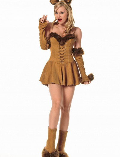 Adult Sexy Cuddly Lion Costume, halloween costume (Adult Sexy Cuddly Lion Costume)