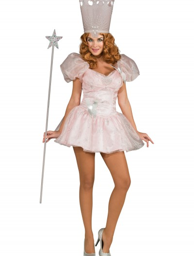 Adult Sexy Glinda the Good Witch Costume, halloween costume (Adult Sexy Glinda the Good Witch Costume)