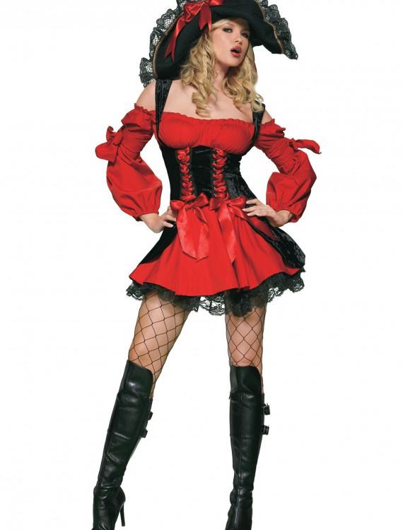 Adult Sexy Vixen Pirate Costume, halloween costume (Adult Sexy Vixen Pirate Costume)