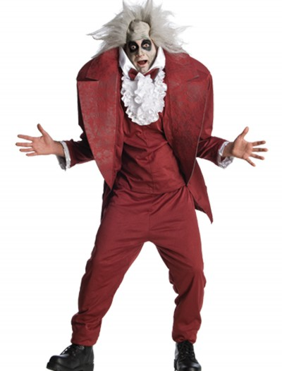Adult Shrunken Head Beetlejuice Costume, halloween costume (Adult Shrunken Head Beetlejuice Costume)