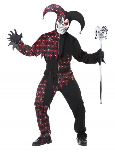 Adult Sinister Jester Costume, halloween costume (Adult Sinister Jester Costume)