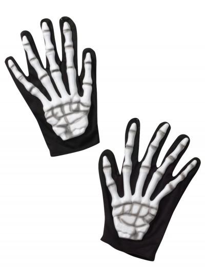 Adult Skeleton Gloves, halloween costume (Adult Skeleton Gloves)