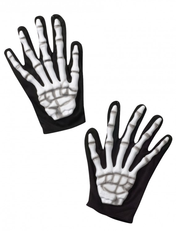 Adult Skeleton Gloves, halloween costume (Adult Skeleton Gloves)