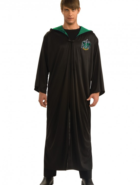 Adult Slytherin Robe, halloween costume (Adult Slytherin Robe)