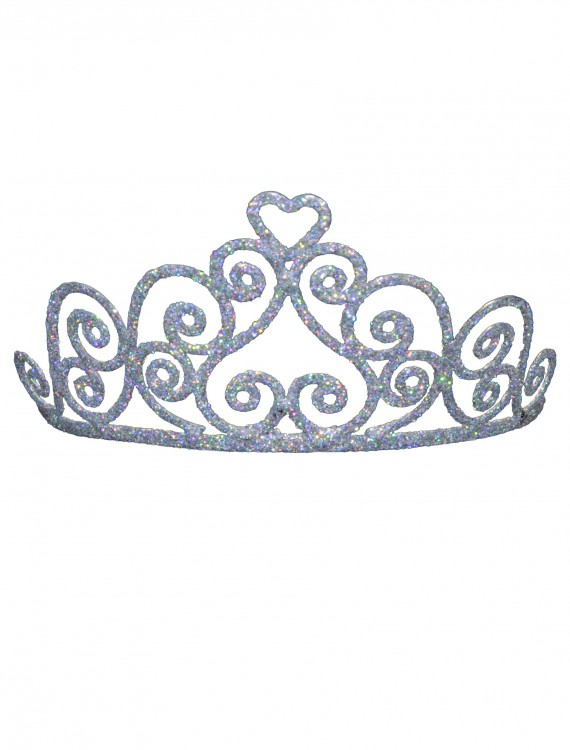 Adult Sparkle Heart Tiara, halloween costume (Adult Sparkle Heart Tiara)