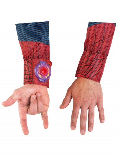 Adult Spiderman Light-Up Web Shooter, halloween costume (Adult Spiderman Light-Up Web Shooter)